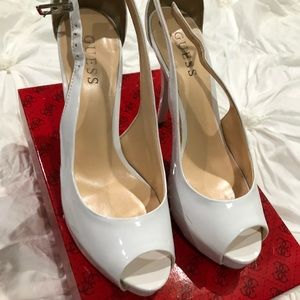 Guess heels in White